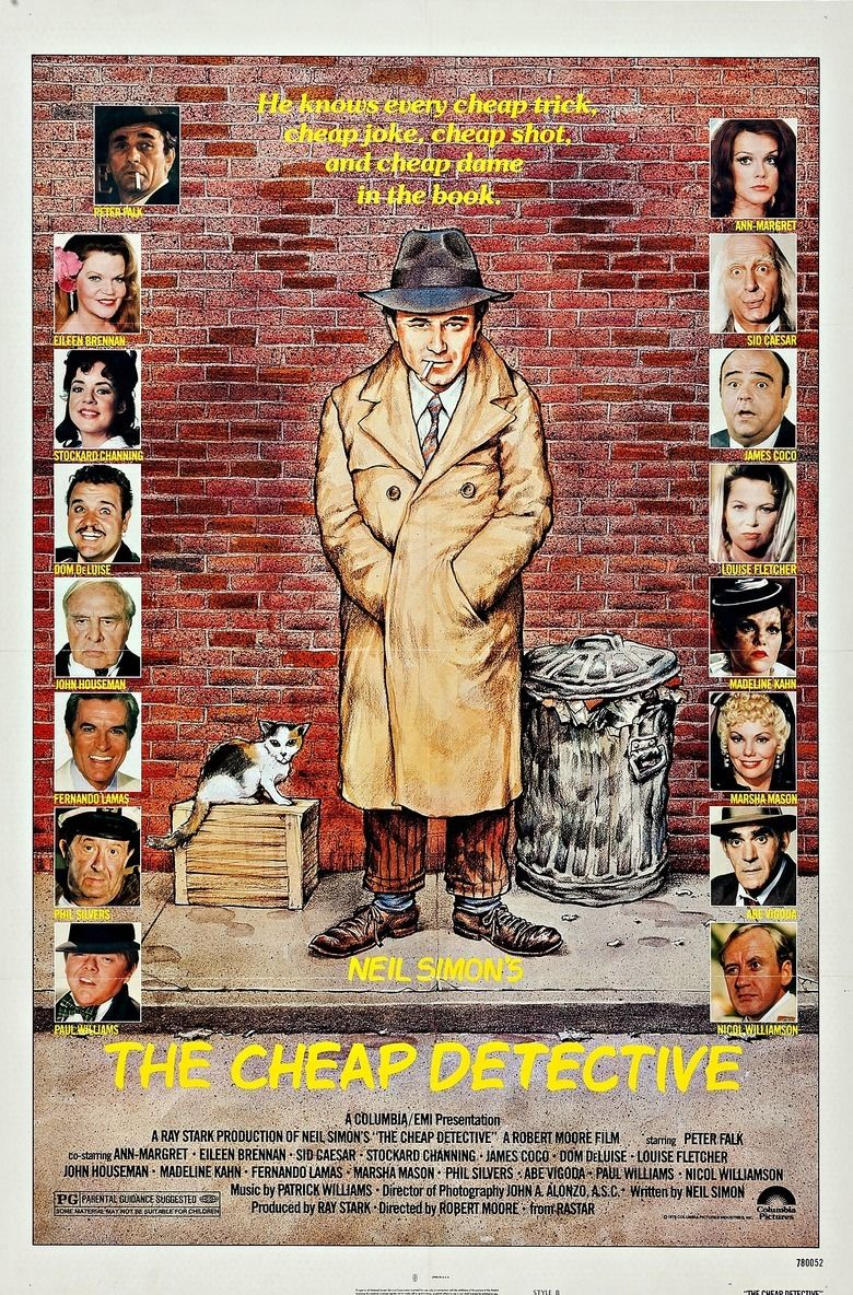 The Cheap Detective movie poster