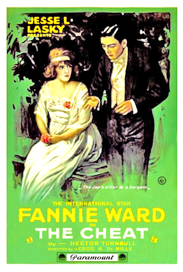 The Cheat (1915 film) movie poster