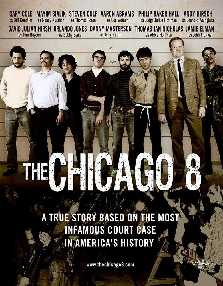 The Chicago 8 movie poster