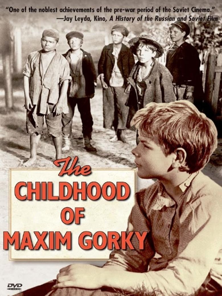 The Childhood of Maxim Gorky movie poster