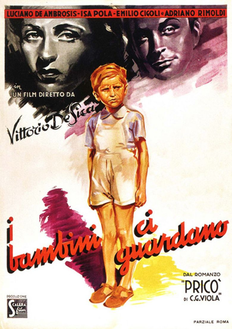 The Children Are Watching Us movie poster