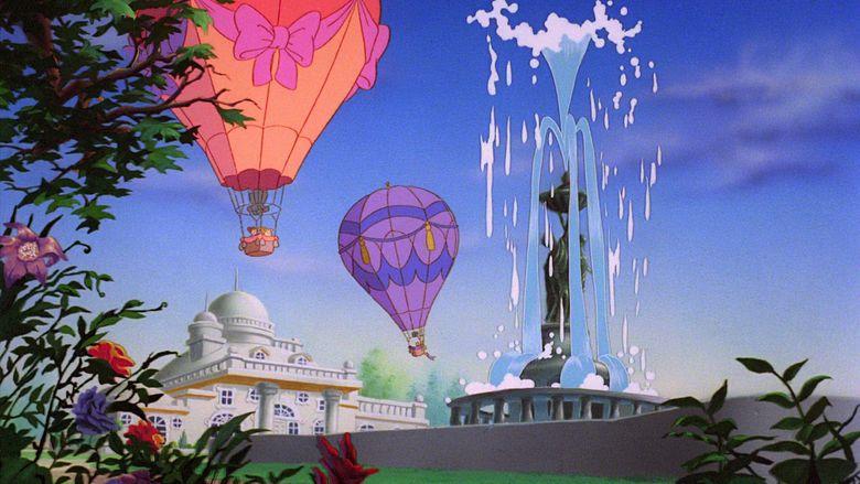 The Chipmunk Adventure movie scenes