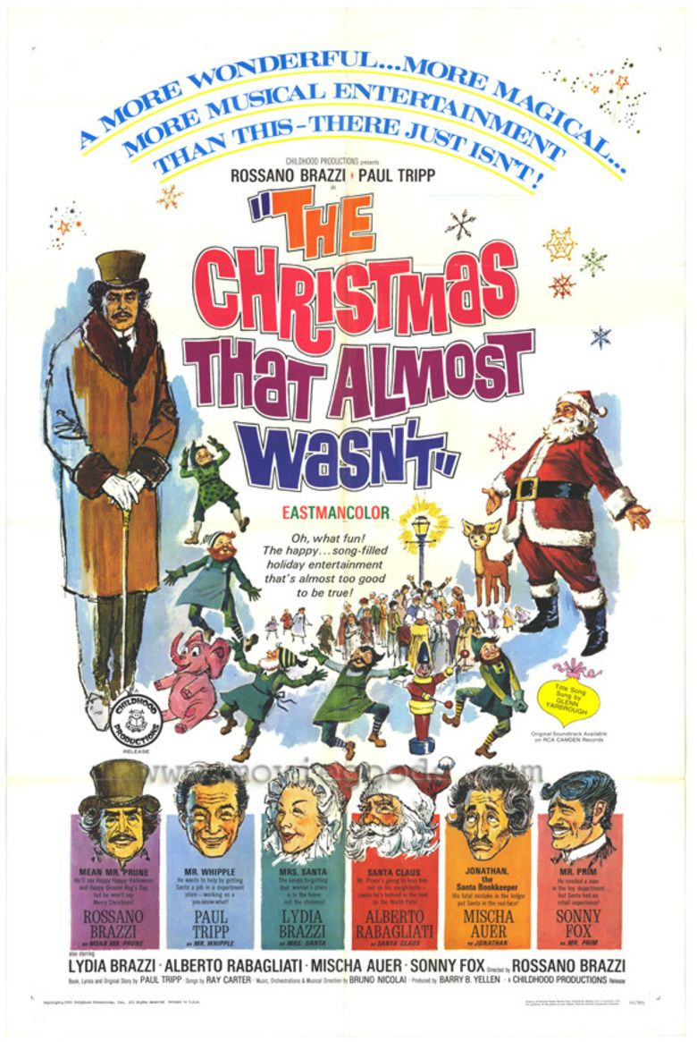 The Christmas That Almost Wasnt movie poster