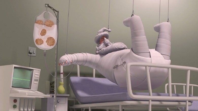 The ChubbChubbs Save Xmas movie scenes