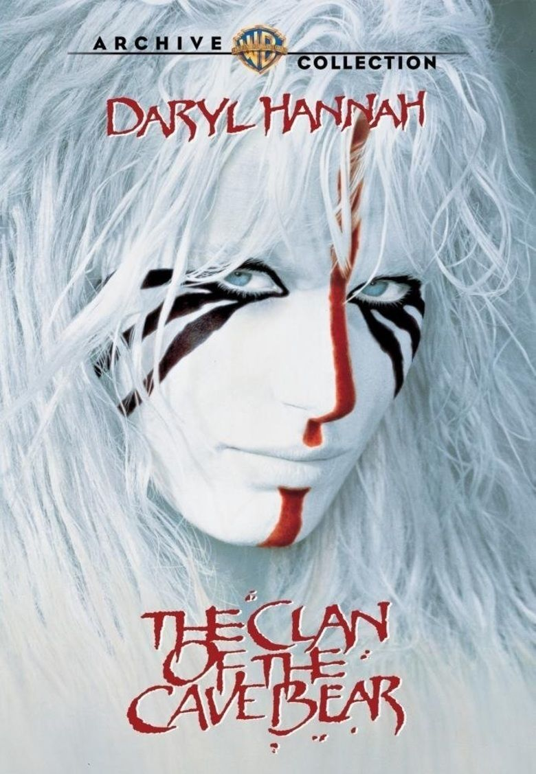 The Clan of the Cave Bear (film) movie poster