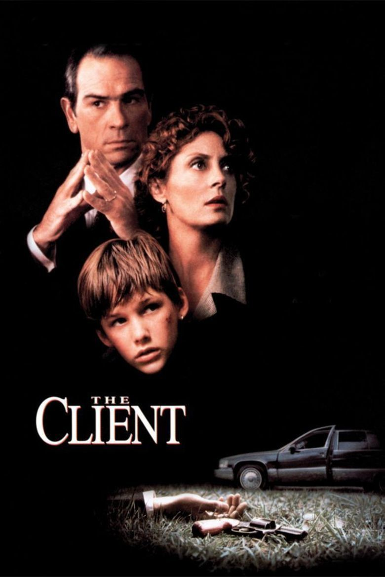 The Client (1994 film) movie poster