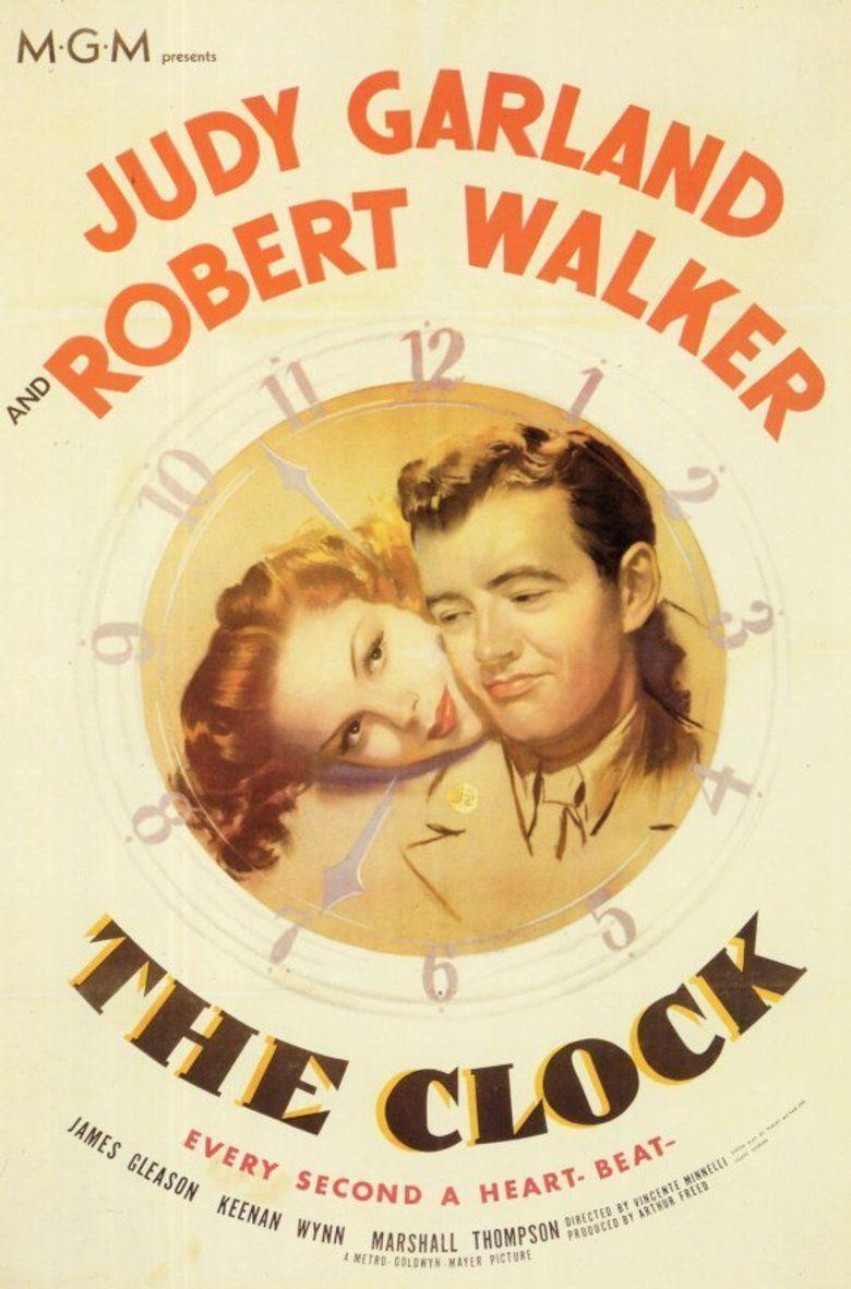 The Clock (1945 film) movie poster
