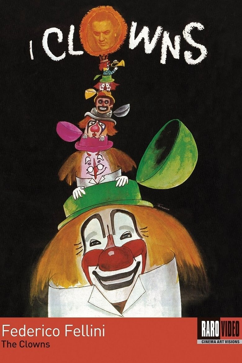 The Clowns (film) movie poster