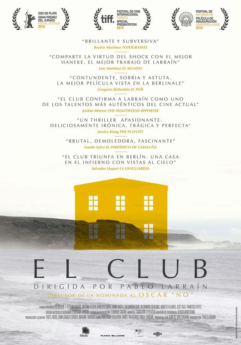 The Club (2015 film) movie poster