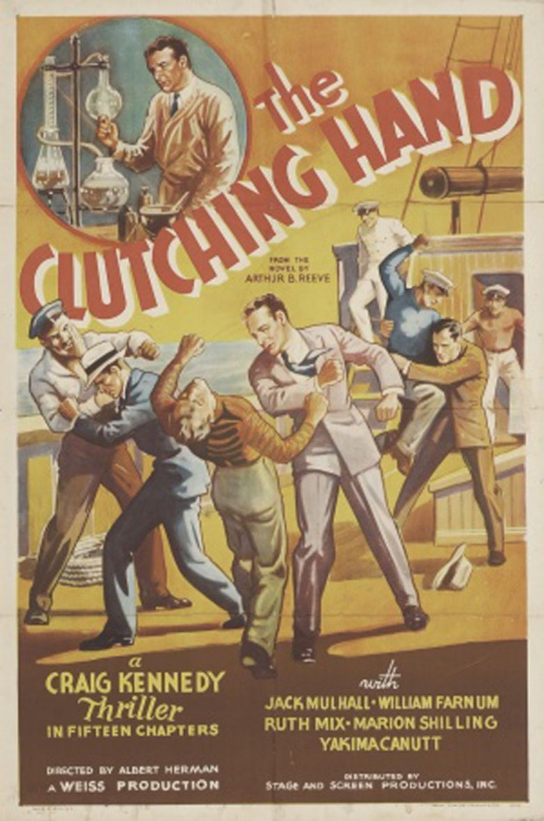 The Clutching Hand movie poster