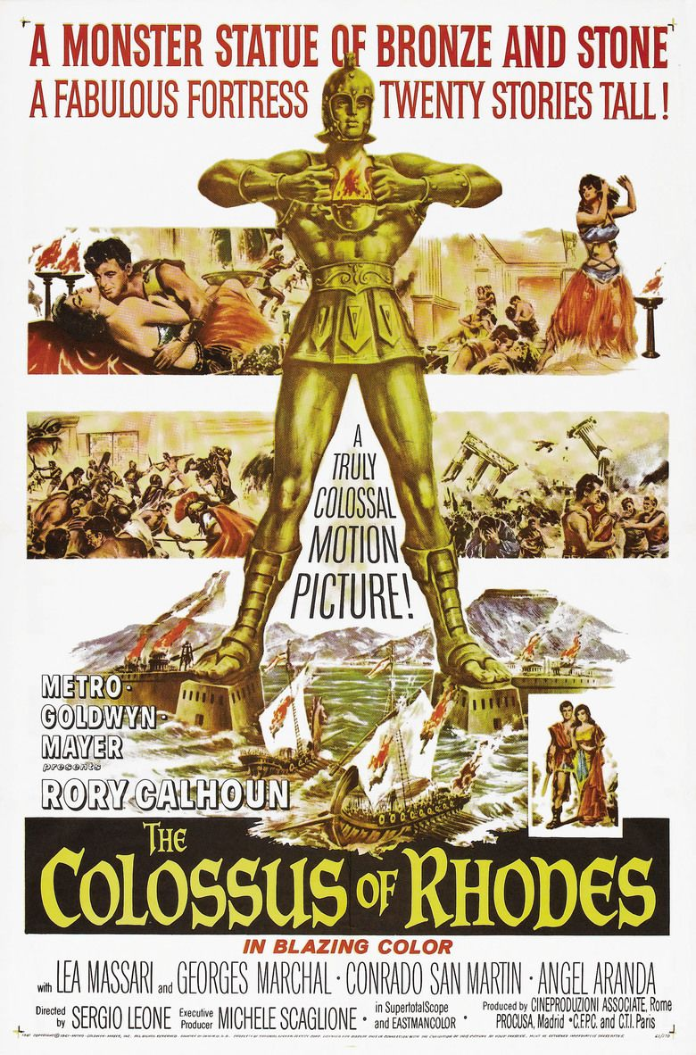 The Colossus of Rhodes (film) movie poster