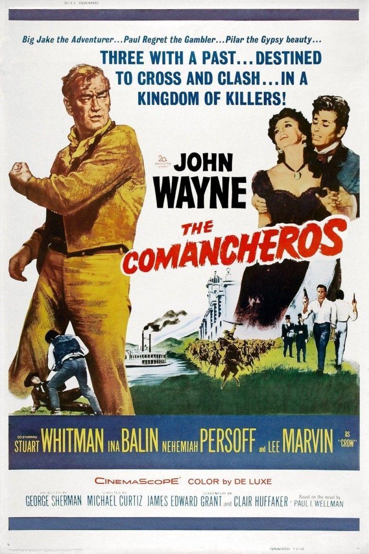 The Comancheros (film) movie poster