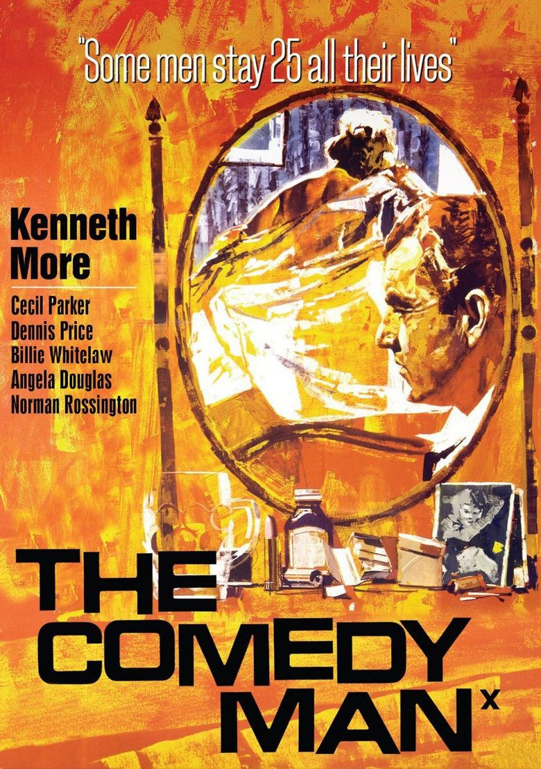 The Comedy Man movie poster