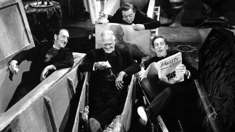 The Comedy of Terrors movie scenes