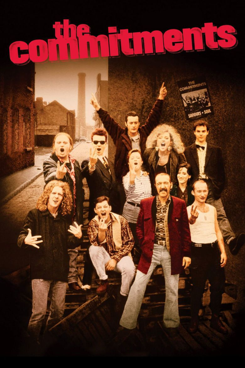 The Commitments (film) movie poster