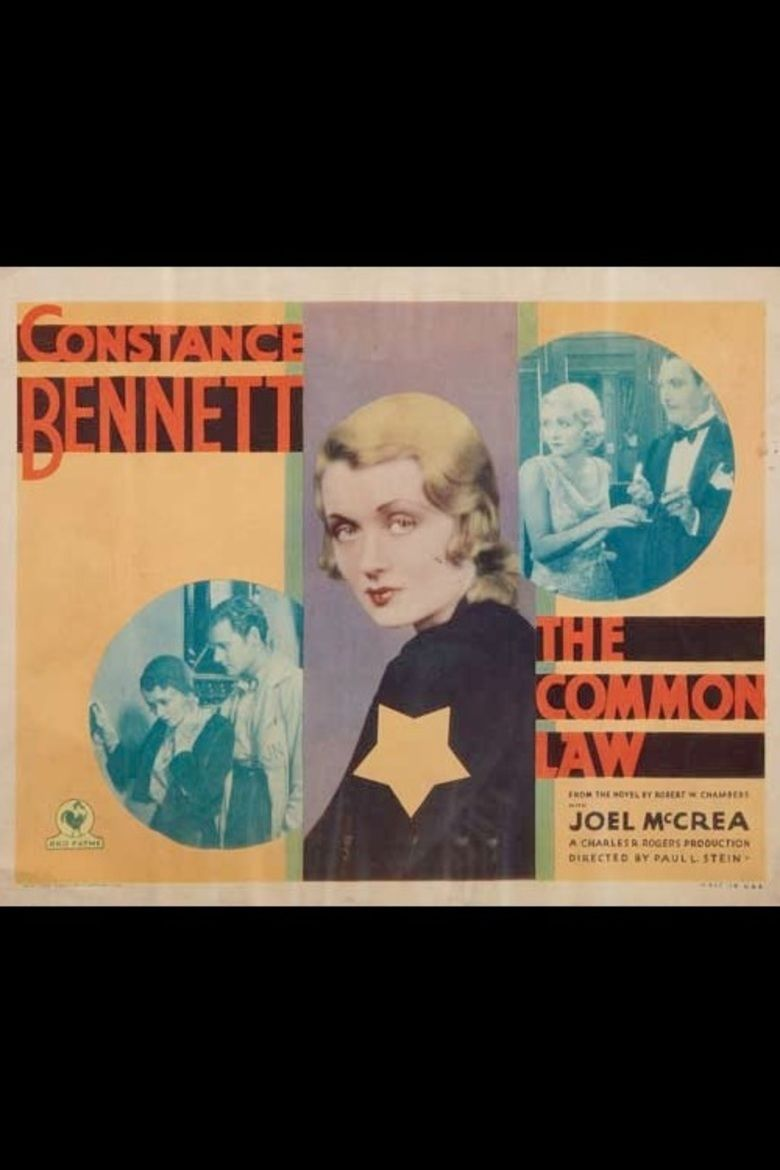 The Common Law (film) movie poster