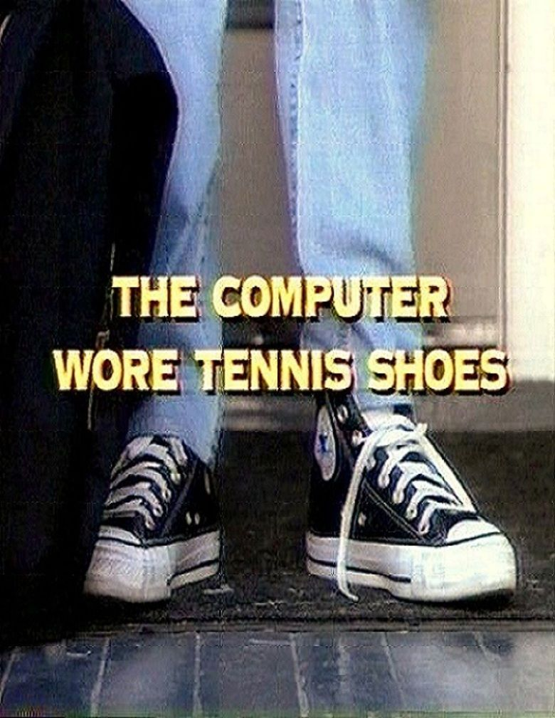 The Computer Wore Tennis Shoes (1995 film) movie poster