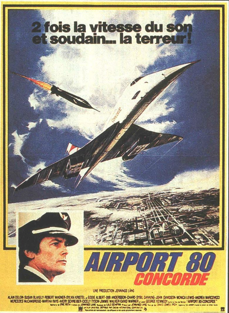 The ConcordeAirport 79 movie poster