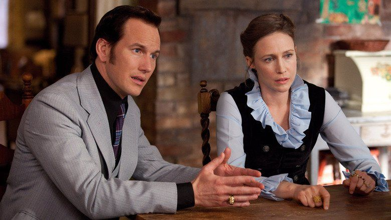 The Conjuring movie scenes