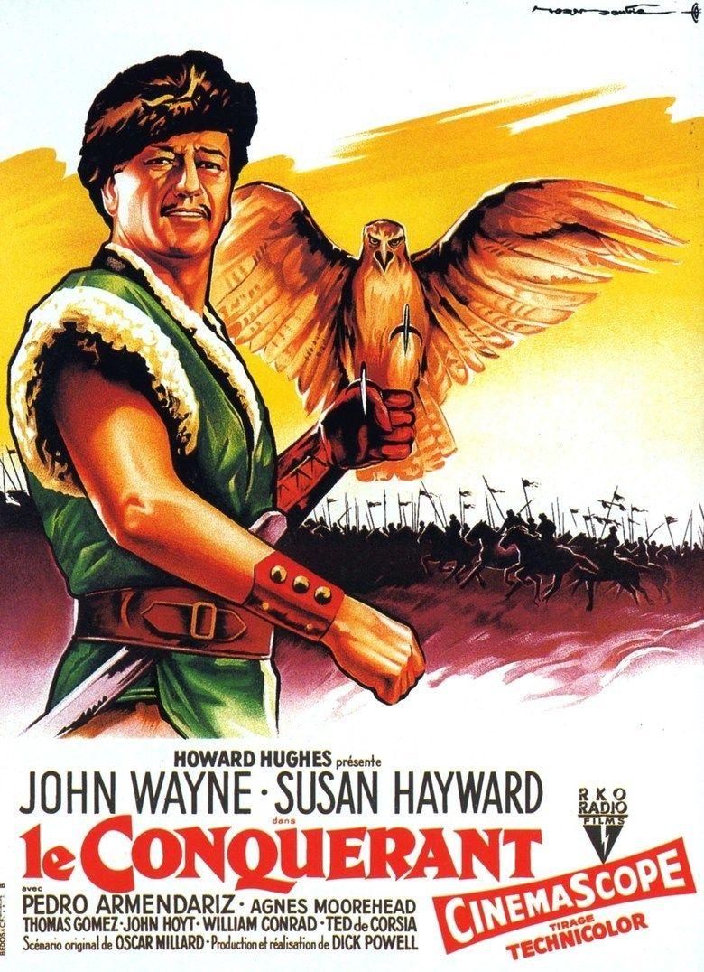The Conqueror (film) movie poster