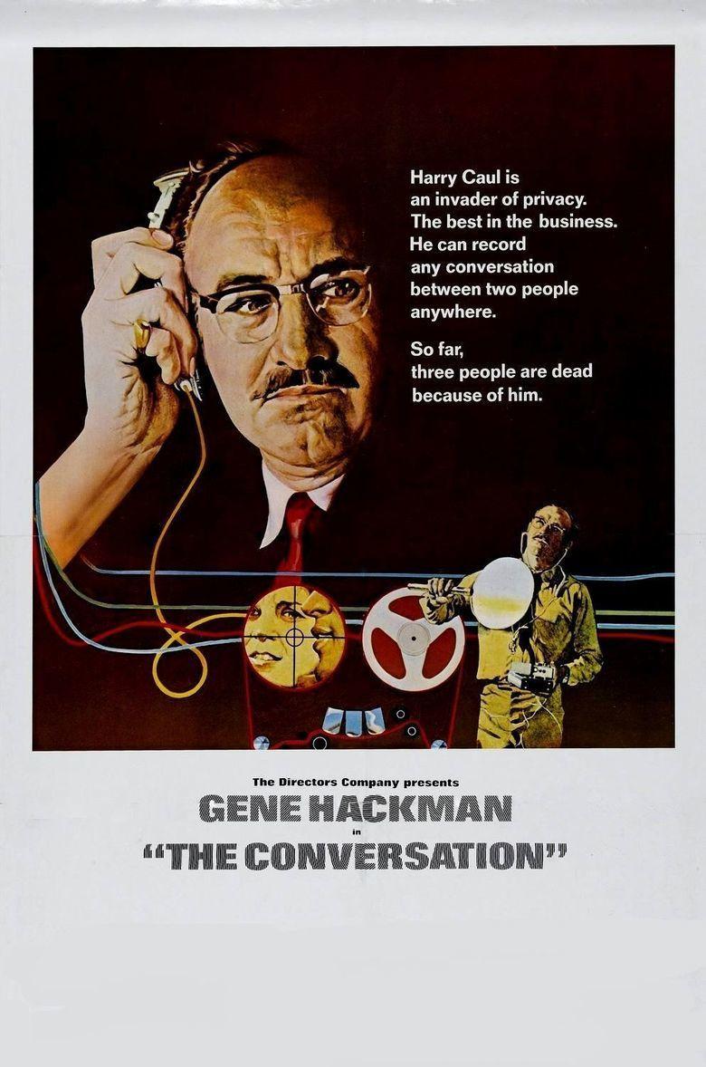 The Conversation movie poster