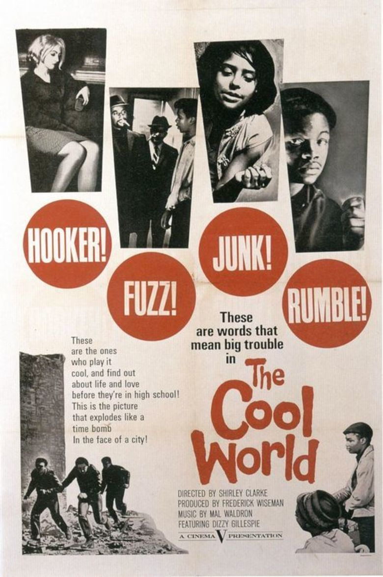 The Cool World (film) movie poster