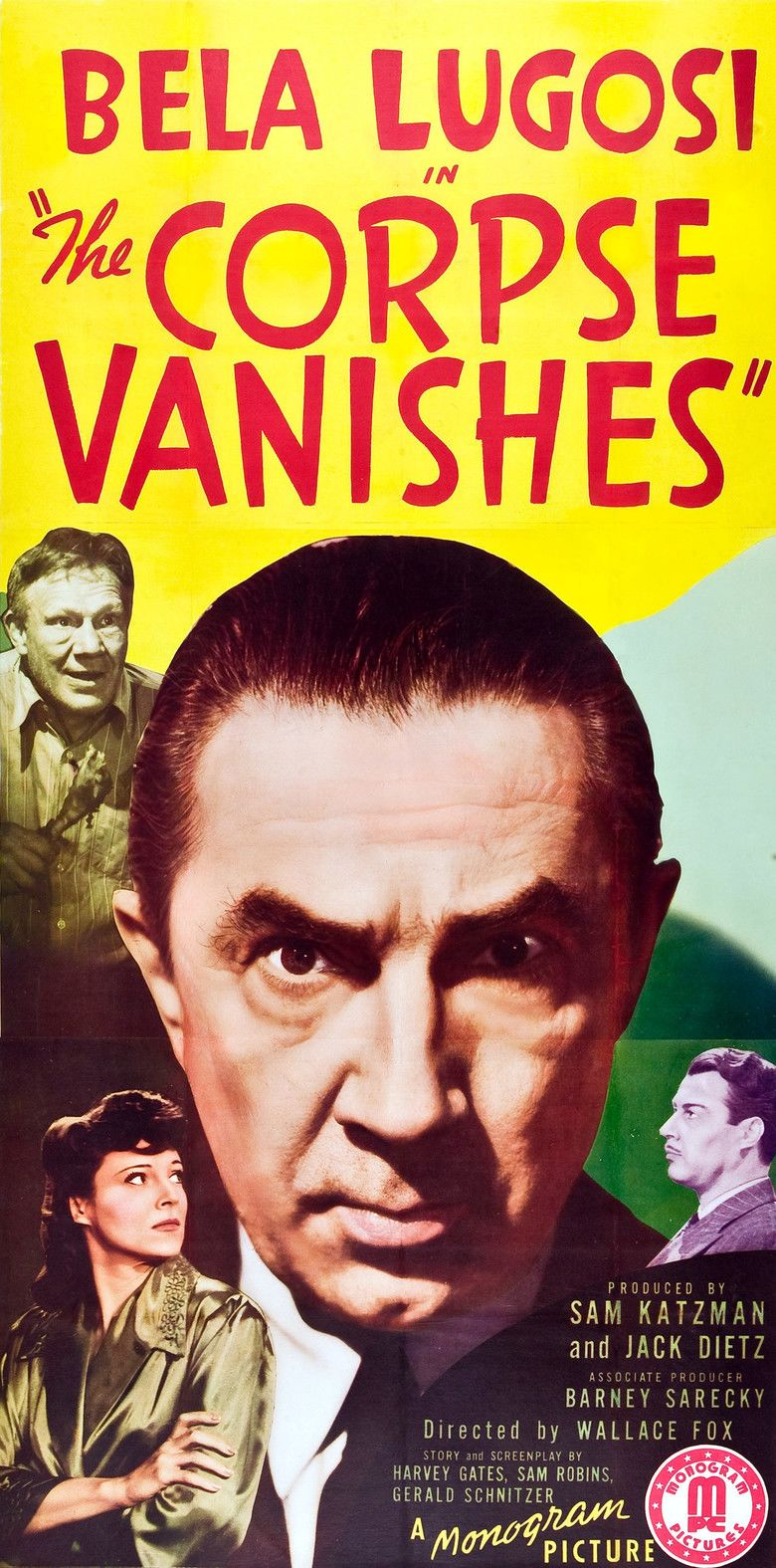 The Corpse Vanishes movie poster