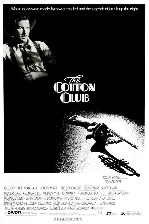 The Cotton Club (film) movie poster