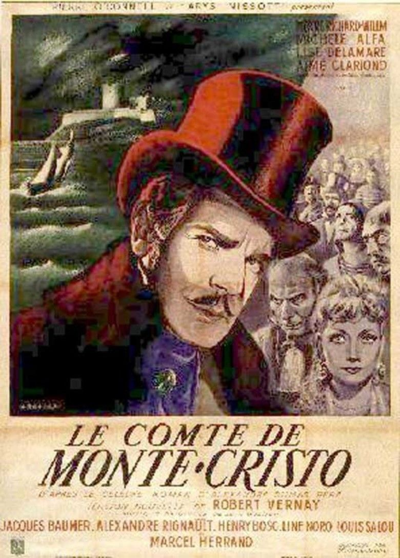 The Count of Monte Cristo (1943 film) movie poster