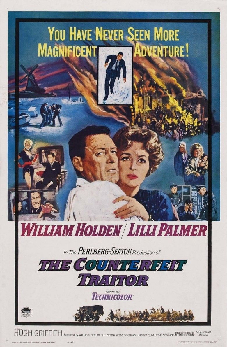 The Counterfeit Traitor movie poster