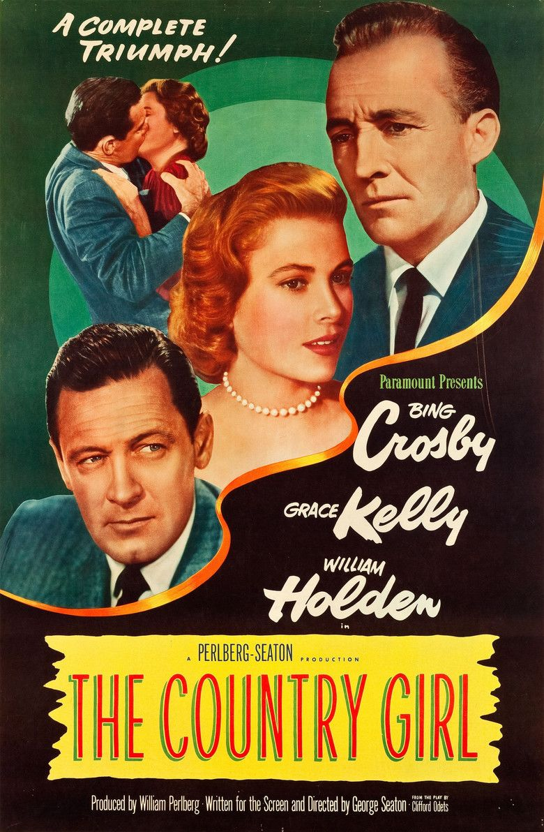 The Country Girl (1954 film) movie poster
