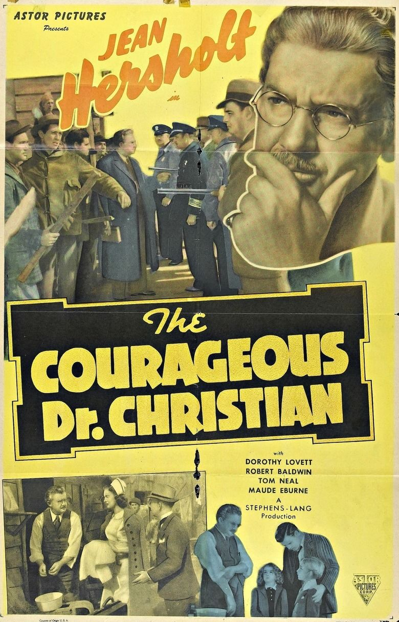 The Courageous Dr Christian movie poster