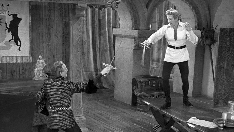 The Court Jester movie scenes