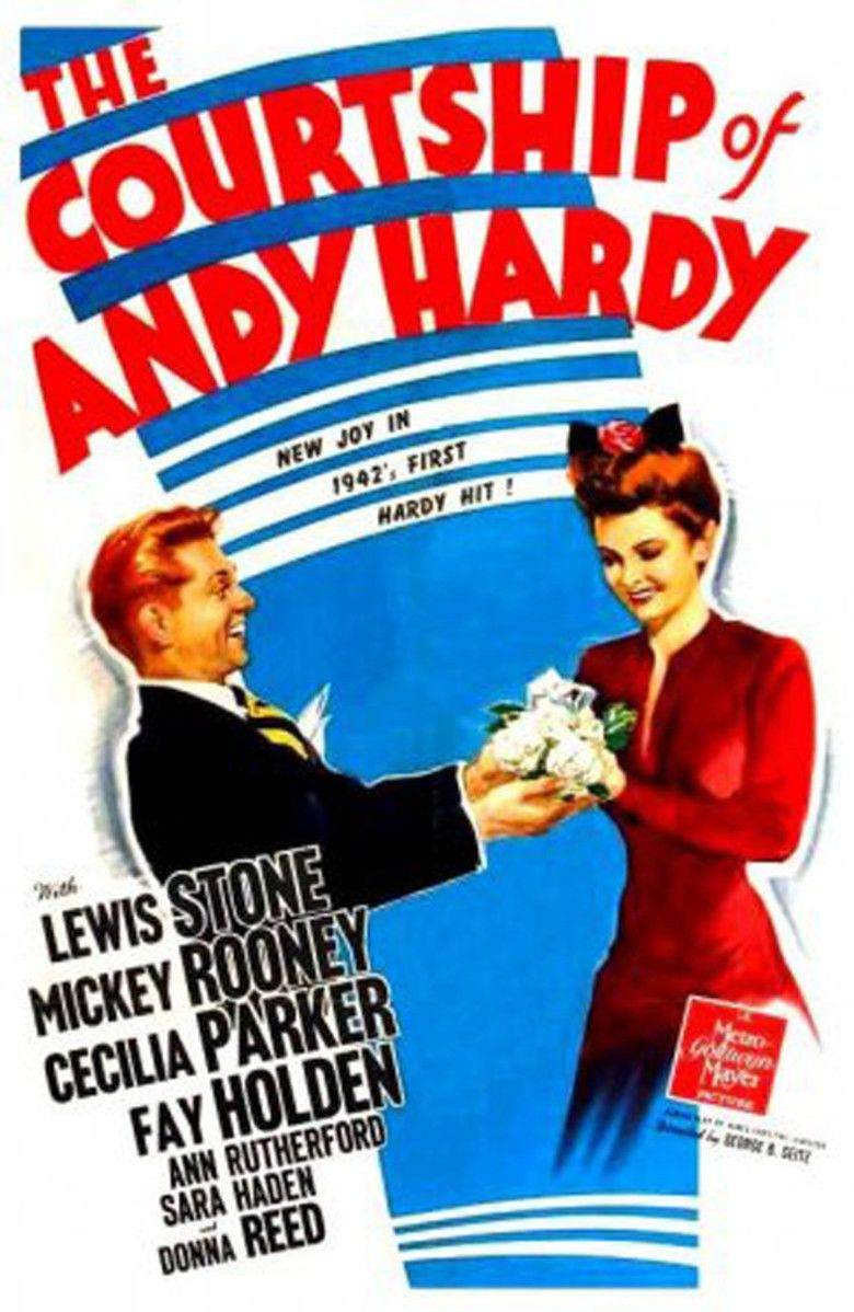 The Courtship of Andy Hardy movie poster