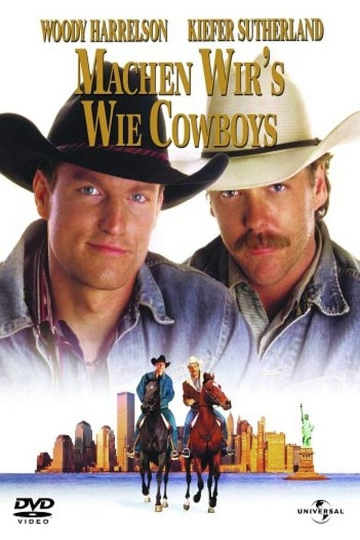 The Cowboy Way (film) movie poster
