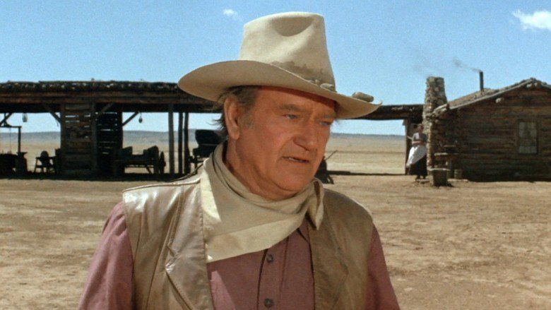 The Cowboys movie scenes