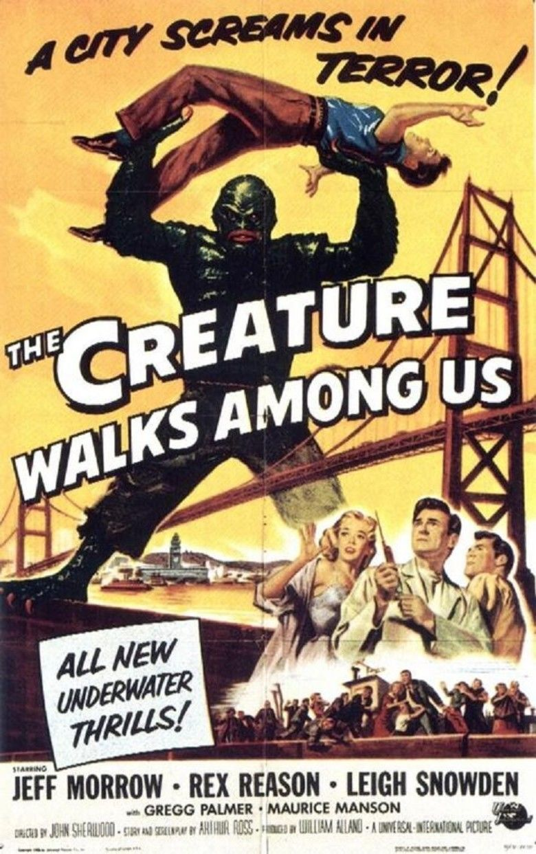 The Creature Walks Among Us movie poster