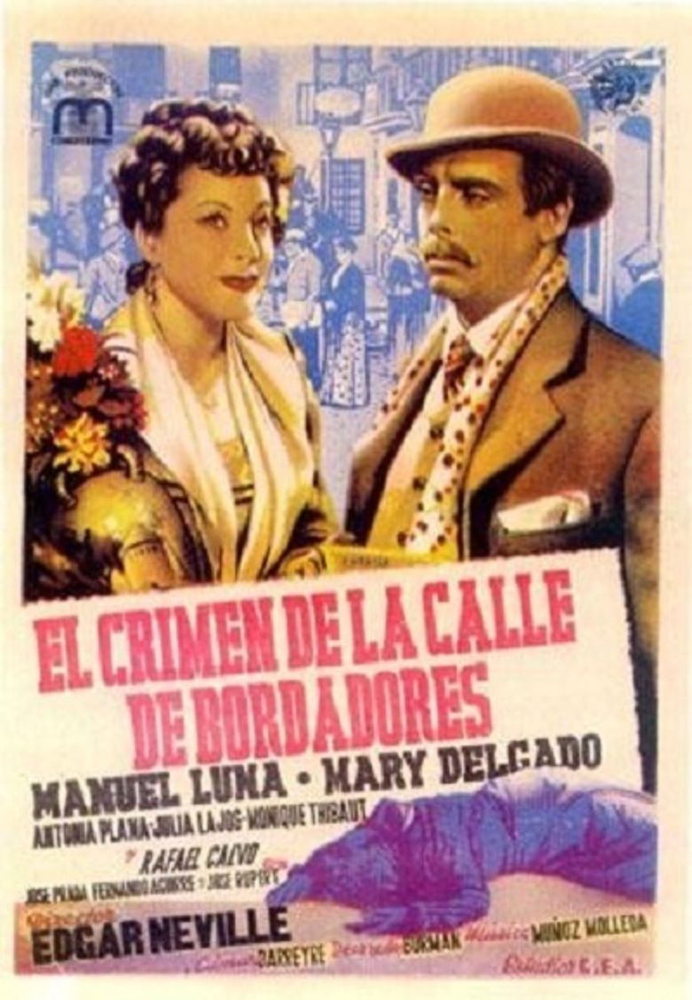 The Crime of Bordadores Street movie poster