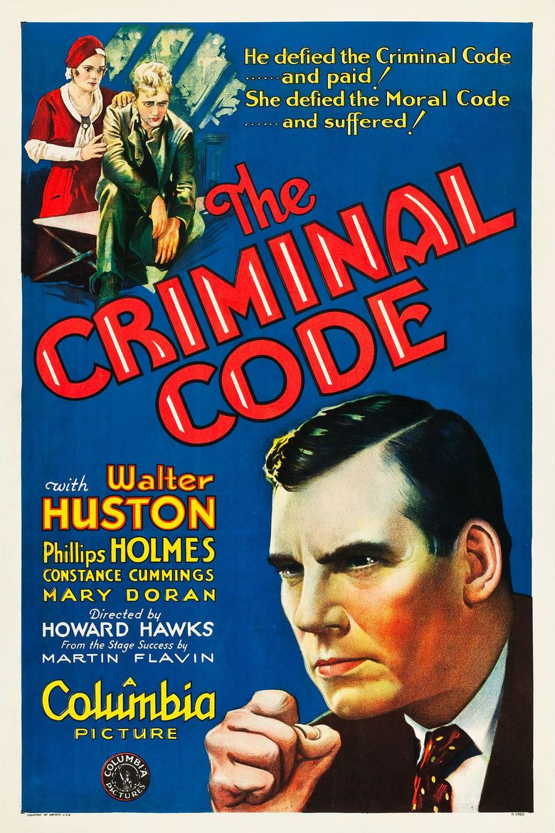 The Criminal Code movie poster