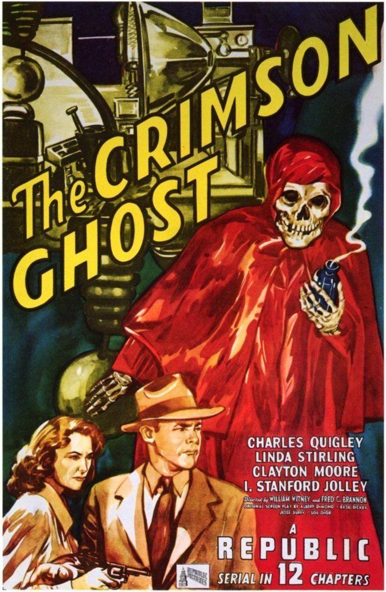 The Crimson Ghost movie poster