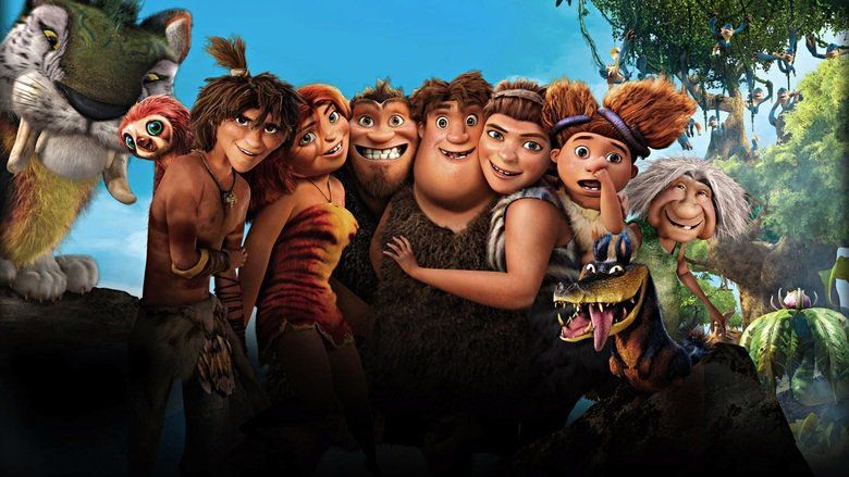 The Croods movie scenes