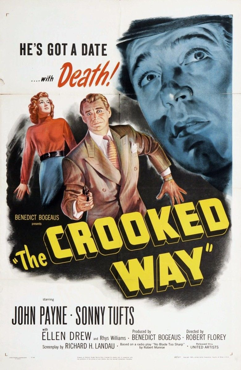 The Crooked Way movie poster