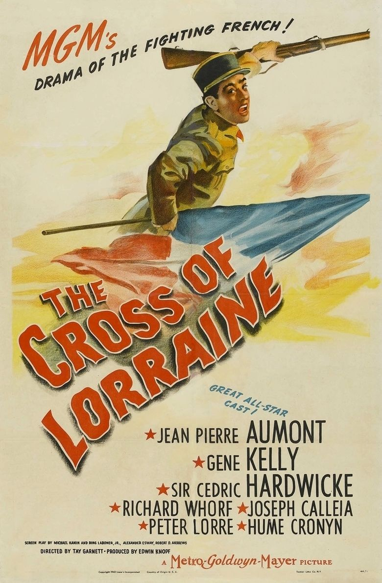 The Cross of Lorraine movie poster