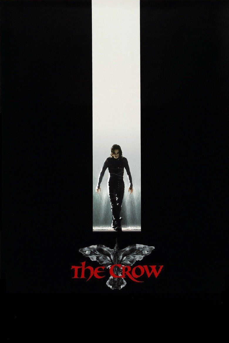 The Crow (1994 film) movie poster