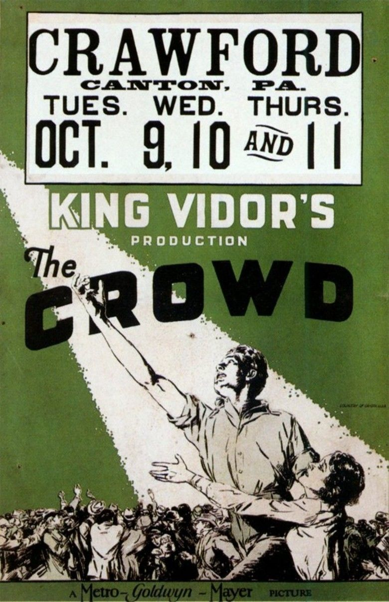 The Crowd (1928 film) movie poster