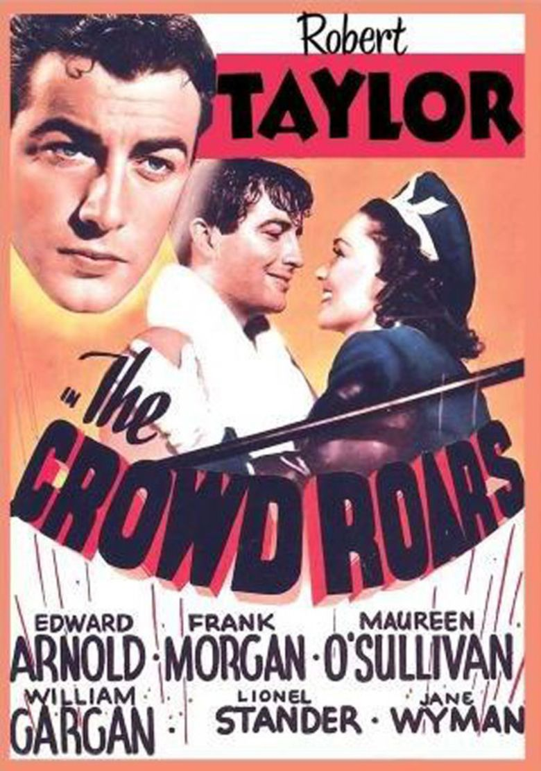 The Crowd Roars (1938 film) movie poster