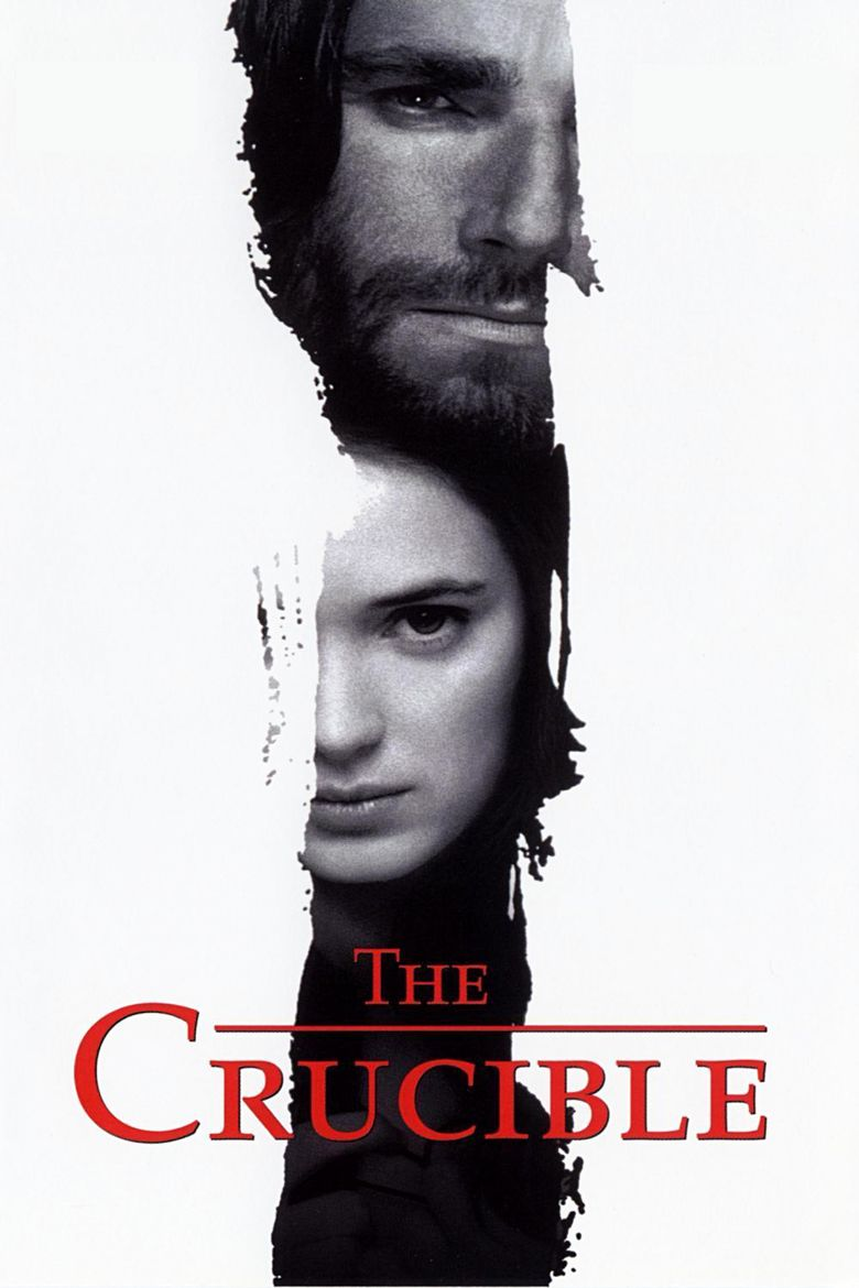 The Crucible (1996 film) movie poster