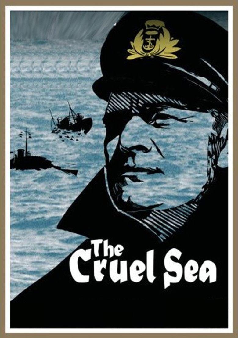 The Cruel Sea (1953 film) movie poster