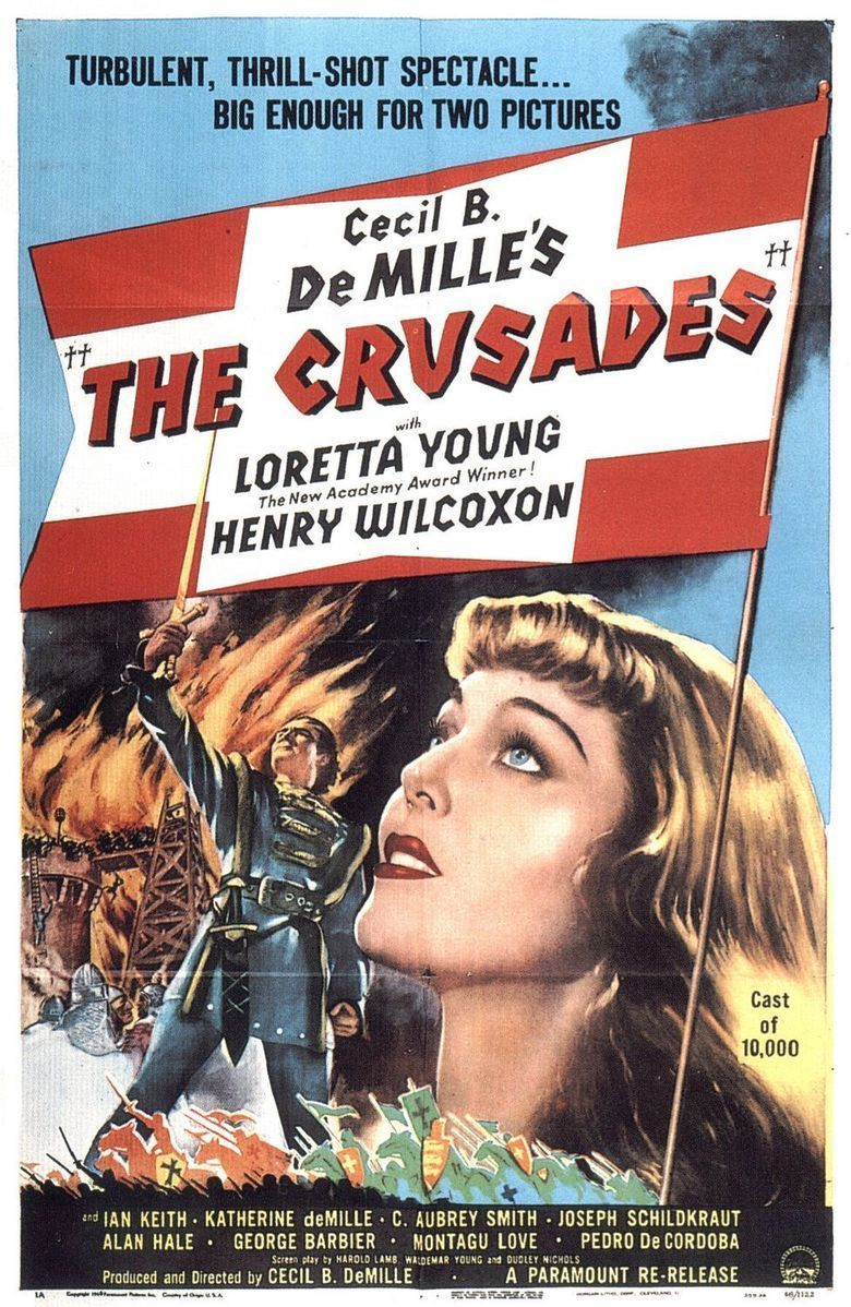 The Crusades (film) movie poster