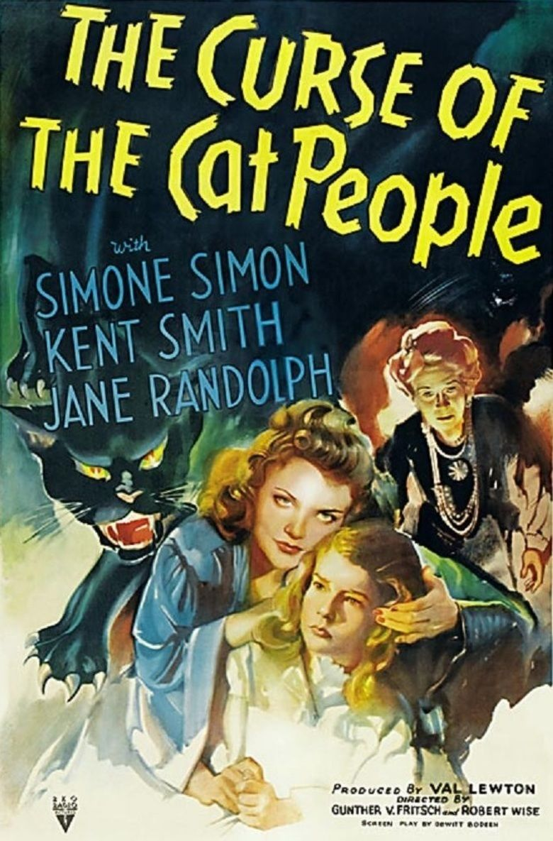 The Curse of the Cat People movie poster